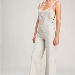 Amuse Society Overall Jumpsuit